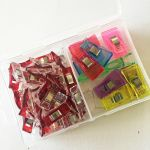 Quilt Clips, 30 Small & 15 Medium in Storage Box by Vicsew Wonder Clips & Hem Clips - OzQuilts