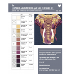 Elephant Abstractions Quilt Pattern by Violet Craft Abstractions Patterns Violet Craft - OzQuilts