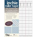 Inchie Ruler Tape by C&T Publishing Other Notions - OzQuilts