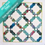 Mini Quick Curve Ruler Mini Mod Tiles Parrern by Sew Kind of Wonderful