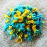 Sue Spargo Eleganza Variegated Perle Cotton Size 3  Crushed Clementine (EZM 30) Thread by Sue Spargo Sue Spargo Eleganza Perle 3 - OzQuilts