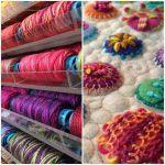 Sue Spargo Eleganza Variegated Perle Cotton Size 3  Plush Lilac (EZM 36) Thread by Sue Spargo Sue Spargo Eleganza Perle 3 - OzQuilts