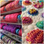 Sue Spargo Eleganza Variegated Perle Cotton Size 3  Pretty Please (EZM 26) Thread by Sue Spargo Sue Spargo Eleganza Perle 3 - OzQuilts