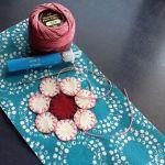 Sue Spargo Eleganza Variegated Perle Cotton Size 3  Lavender Fields (EZM 35) Thread by Sue Spargo Sue Spargo Eleganza Perle 3 - OzQuilts