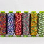 Sue Spargo Eleganza Variegated Perle Cotton Size 3  Fresh Cut Grass (EZM 11) Thread by Sue Spargo Sue Spargo Eleganza Perle 3 - OzQuilts