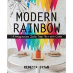 Modern Rainbow: 14 IMaginative Quilts That Play with Colour by C&T Publishing Modern Quilts - OzQuilts