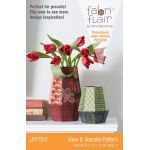 Fabriflair Vase & Vessels Pattern by Indygo Junction Christmas - OzQuilts
