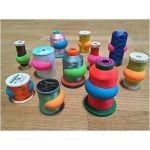 Bobbin & Spool Huggers 12 in a Jar by OzQuilts Thread Accessories - OzQuilts