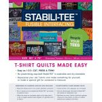 Stabili-TEE Fusible Interfacing Pack by C&T Publishing Stabiliser & Interfacing - OzQuilts