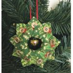Holiday Tree Wreath Ornaments Cut Loose Press Pattern by Cut Loose Press Patterns Cut Loose Press Patterns - OzQuilts