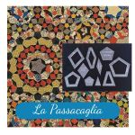 "La Passacaglia Halo Template Set from Millefiori Quilts - 1.5"" Size by  Millefiori Book 1  - OzQuilts"