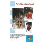 Fold N Stitch Holiday Ornaments Pattern by PoorHouse Quilt Designs Christmas - OzQuilts