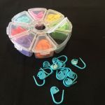 Knitting & Crochet Stitch Markers 80 piece set by OzQuilts Crochet Accessories - OzQuilts