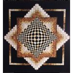 Convex Illusions Quilt Pattern by Kwilt Art by Kathleen Andrews 3D Quilts - OzQuilts
