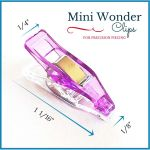 "Mini Sharp Quilter's Wonder Clips with 1/8"" nose - 25 Purple Mini Clips by OzQuilts Wonder Clips & Hem Clips - OzQuilts"