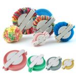 "Pom Pom Makers <br>Set of 4 sizes<br>38, 48, 68 & 88mm<br>1½, 2"", 2⅔"" & 3½"" approx by OzQuilts"
