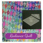Radiance Quilt Traditional Template Set designed by Stacey Day for Tula Pink Slow and Steady Fabrics by Tula Pink Custom Quilt Template Sets - OzQuilts