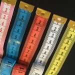 White & Red Tape Measure Extra Long 200cm /79 Inches -Imperial & Metric by OzQuilts Tape Measures - OzQuilts