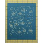 Full Line Stencil Daisy Chain Background by Hancy Full Line Stencils Pounce Pads & Quilt Stencils - OzQuilts