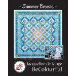 Summer Breeze Pattern & Foundation Papers by Jacqueline de Jongue by BeColourful Quilts by Jacqueline de Jongue Patterns & Foundation Papers
