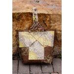 Braided Bucket Scrap-Bag Pattern by Jamie Kalvestran Bag Patterns - OzQuilts