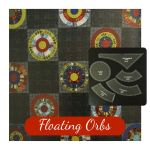 Floating Orbs Template Set from New York Beauties & Flying Geese Book by Carl Hentsch by OzQuilts New York Beauty Templates - OzQuilts