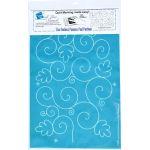 Full Line Stencil Oak Leaf Swirl by Hancy Full Line Stencils Pounce Pads & Quilt Stencils - OzQuilts