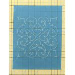 Full Line Stencil Victorian Gingerbread Block by Hancy Full Line Stencils Pounce Pads & Quilt Stencils - OzQuilts