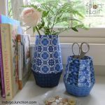 Fabriflair Vase & Vessels Pattern by Indygo Junction Christmas