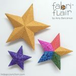 Fabriflair Tree Topper & Ornament Pattern by Indygo Junction Christmas - OzQuilts