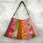 Asian Fan Purse by La Todera Bag Patterns - OzQuilts
