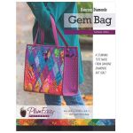 Dancing Diamonds Gem Bag Pattern including interfacing by PlumEasy Patterns Quiltsmart Kits - OzQuilts