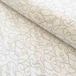 Dove Words Fabric by  Quilting Cotton Fabrics - OzQuilts