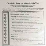 Elizabeth's Pride: An Album Quilt by From My Heart To Your Hands Applique - OzQuilts
