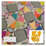 Gem Star Tempter Patchwork Quilt Block Template set by Jen Kingwell Designs by Jen Kingwell Designs Jen Kingwell Designs Templates - OzQuilts