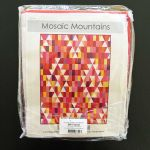 Mosaic Mountains 7.29 yards Kona Cotton Quilt Kit - Warm Colourway by Robert Kaufman Fabrics Quilts Kits - OzQuilts
