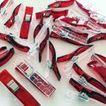 Quilter's Binding Clips -12 Red Clips by OzQuilts Wonder Clips & Hem Clips - OzQuilts