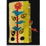 Songbird Jewelry Roll Pattern by Sue Spargo by Sue Spargo Bag Patterns