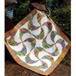 Rainbow Swirls Cut Loose Press Pattern by Cut Loose Press Patterns Cut Loose Press Patterns - OzQuilts