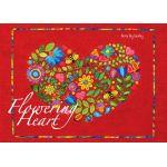 Flowering Heart Quilt Pattern by Karen Kay Buckley by Karen Kay Buckley Applique - OzQuilts