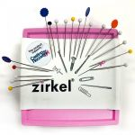 Zirkel Magnetic Pin Cushion - Pink by Zirkel Organisers for Pins - OzQuilts