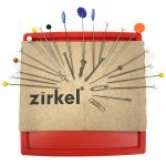 Zirkel Magnetic Pin Cushion - Red by Zirkel Organisers for Pins - OzQuilts