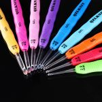 Crochet Hook With LED Lights - 9 Hook Set by OzQuilts LED Lighted Crochet Hooks - OzQuilts
