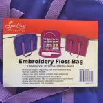 Embroidery Floss Bag, Bonus Refill Pack & 100 Floss Bobbins by  Embroidery - OzQuilts