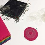 "Medium Mylar Heat Resistant Circles Templates Set to 2"" by OzQuilts Mylar Templates - OzQuilts"