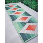 Cut Loose Press Aztec Diamonds Table Runner Pattern by Cut Loose Press Patterns Cut Loose Press Patterns