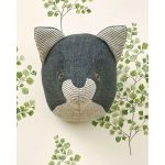 Sewn Animal Heads by  Books - OzQuilts