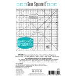 "Sew Kind of Wonderful 6"" Sew Square by Sew Kind of Wonderful Specialty Rulers - OzQuilts"