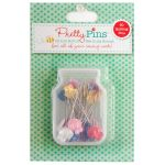 Lori Holt Pretty Pins - Quilting Pins Box Of 60 by Lori Holt from Bee in My Bonnet Patchwork & Quilting Pins - OzQuilts