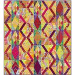 Balcony Roads Quilt Template Set designed by Kaffe Fassett for Free Spirit Fabrics by OzQuilts Custom Quilt Template Sets - OzQuilts